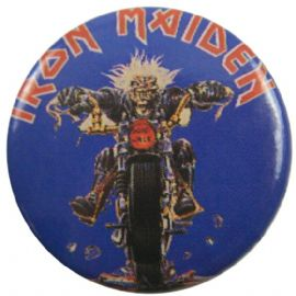 Iron Maiden - 'Don't Walk' Button Badge